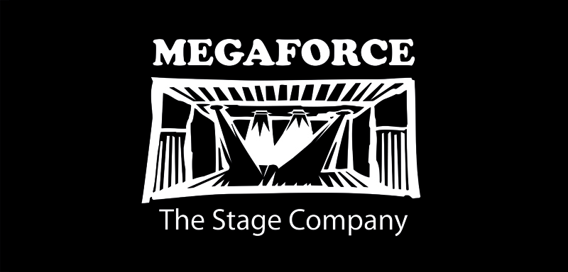 Logo der Megaforce GmbH the stage company