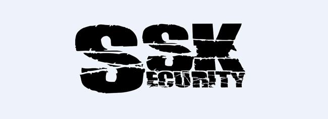 Logo der SSK Security GmbH Schwarzheide