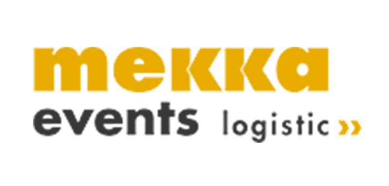 Logo der mekka events logistic OHG