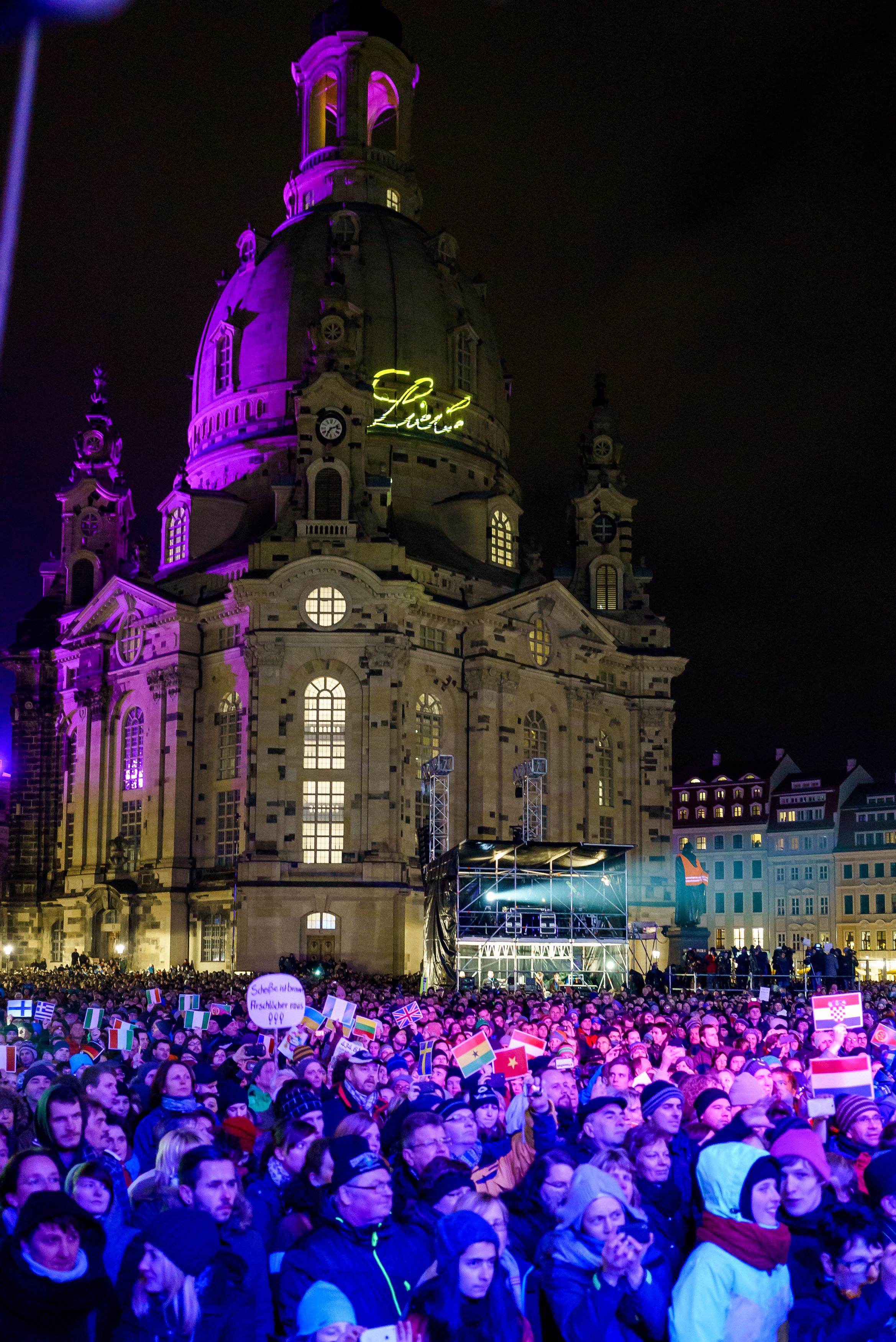 """Konzert - """"Offen und bunt – Dresden für alle!"""""""