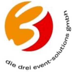 Logo der die drei event-solutions gmbh