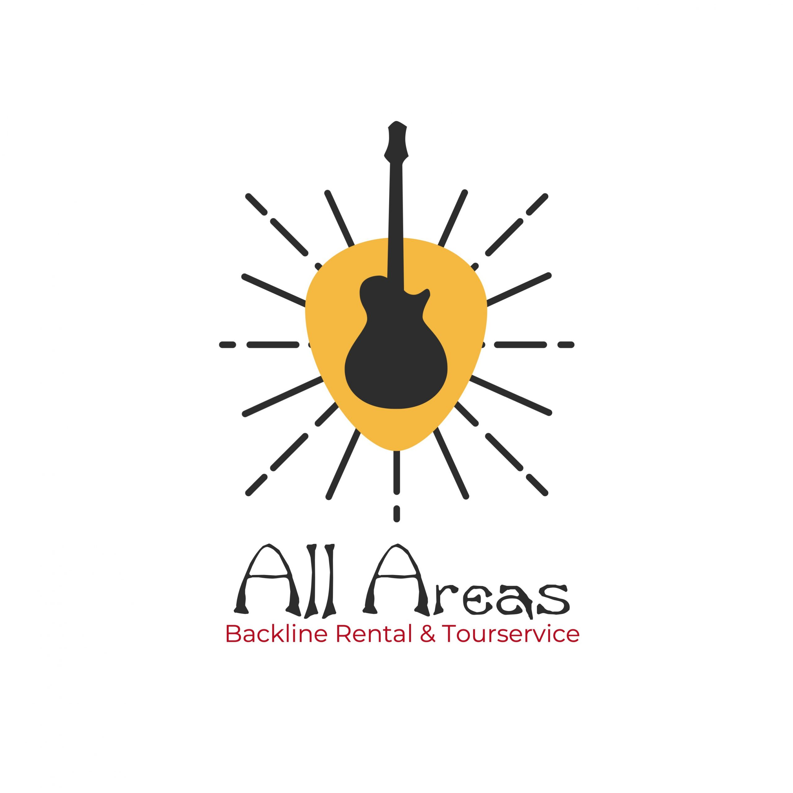 Logo der All Areas Backline Rental