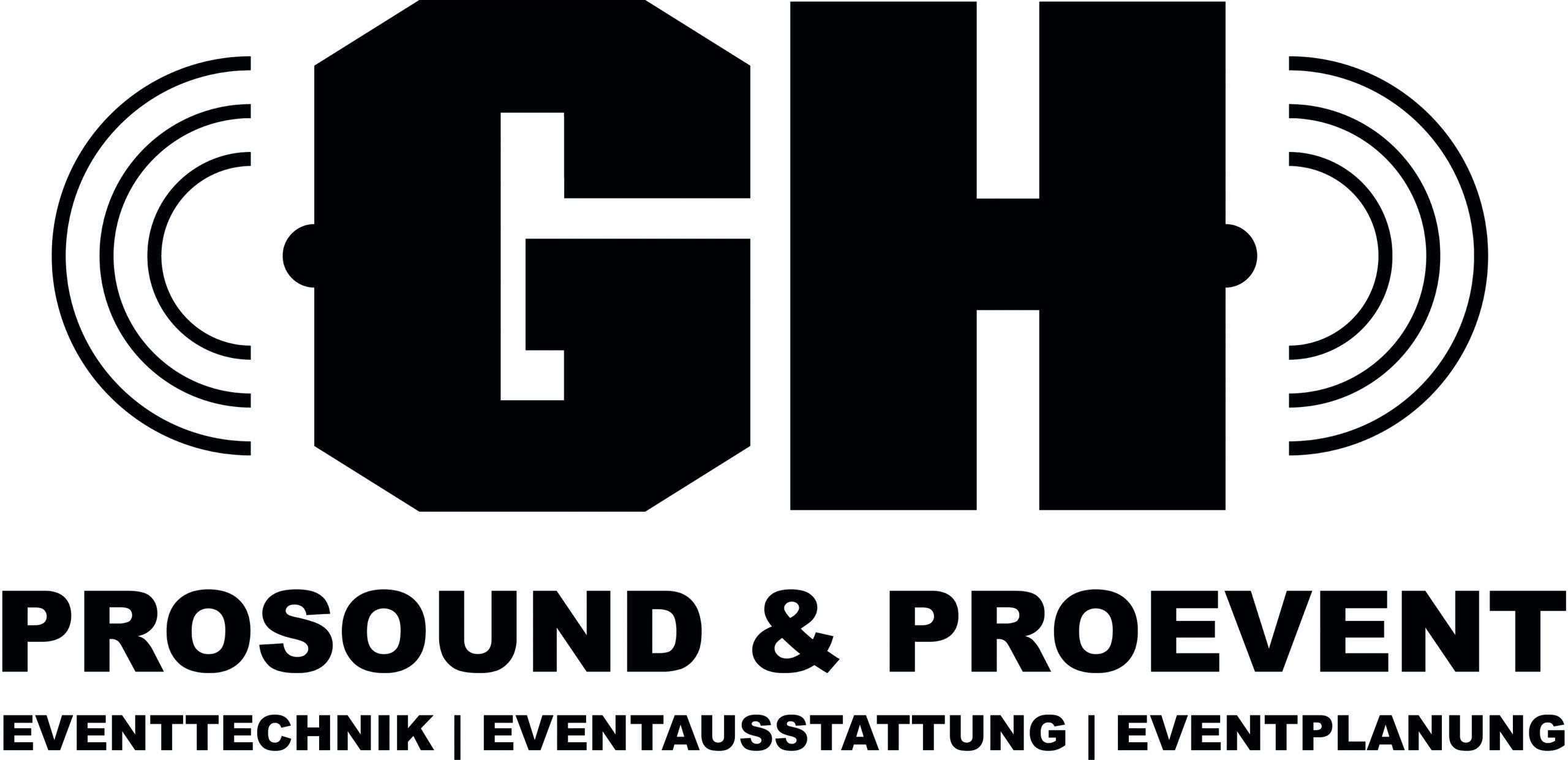 Logo der GH-Prosound, GH Proevent