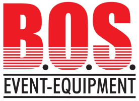Logo der B. O. S.  Event-Equipment