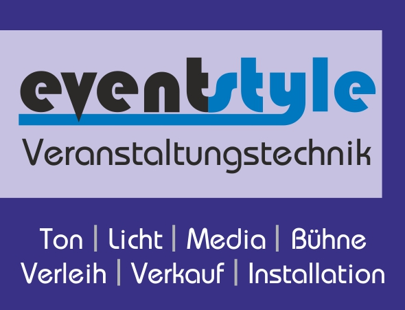 Logo der eventstyle Veranstaltungstechnik