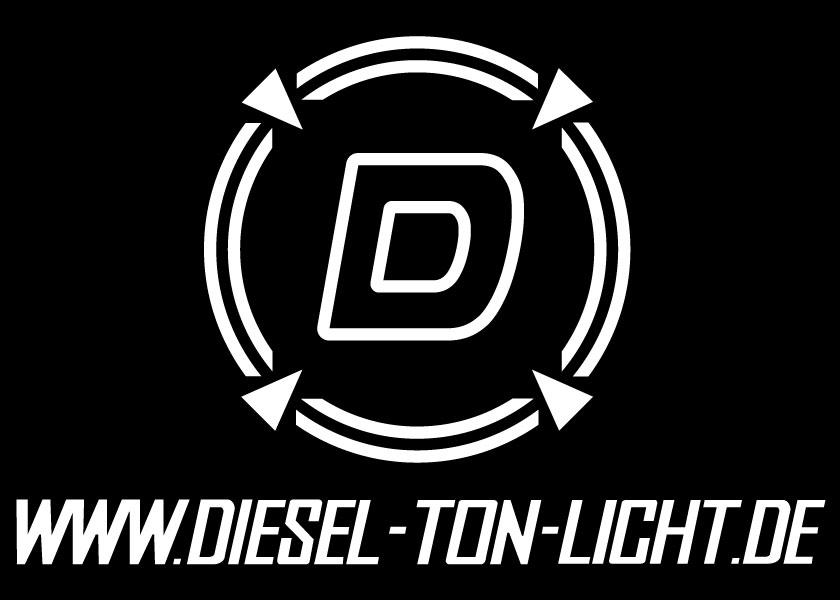Logo der DIESEL Ton + Lichttechnik