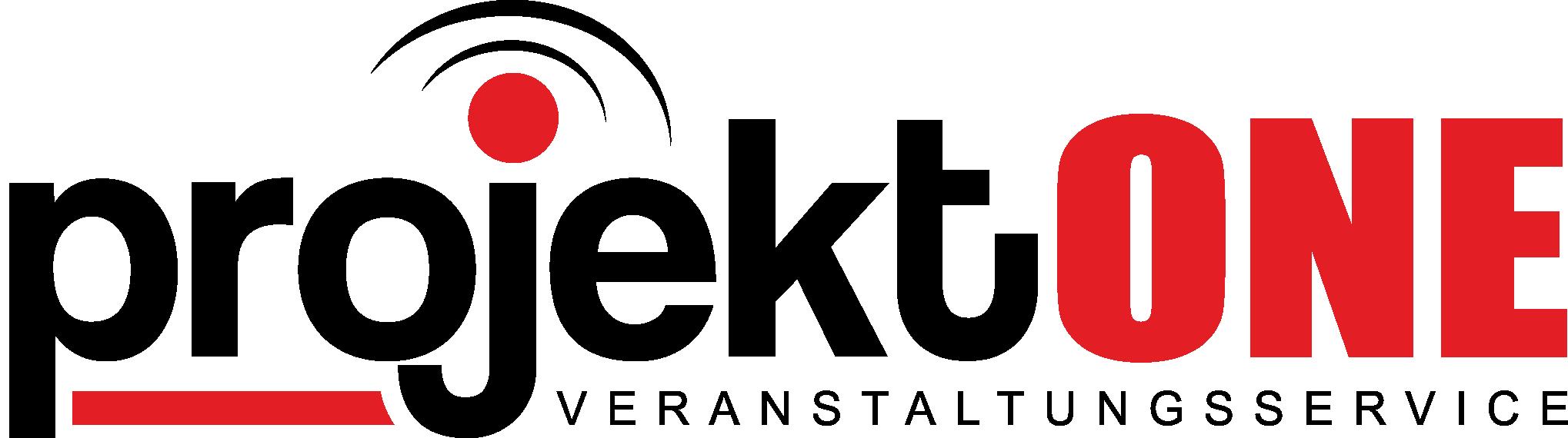 Logo der Veranstaltungsservice - projekt ONE