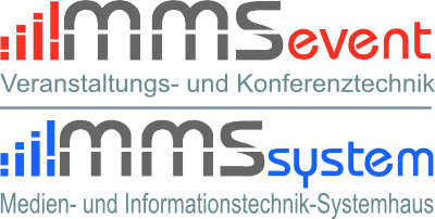 Logo der music & media service e.K.