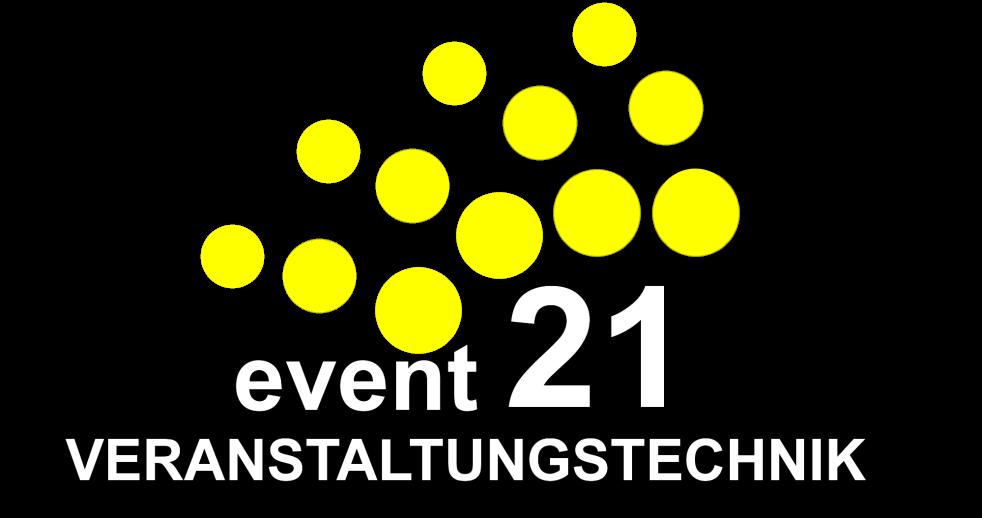 Logo der event21 Veranstaltungstechnik