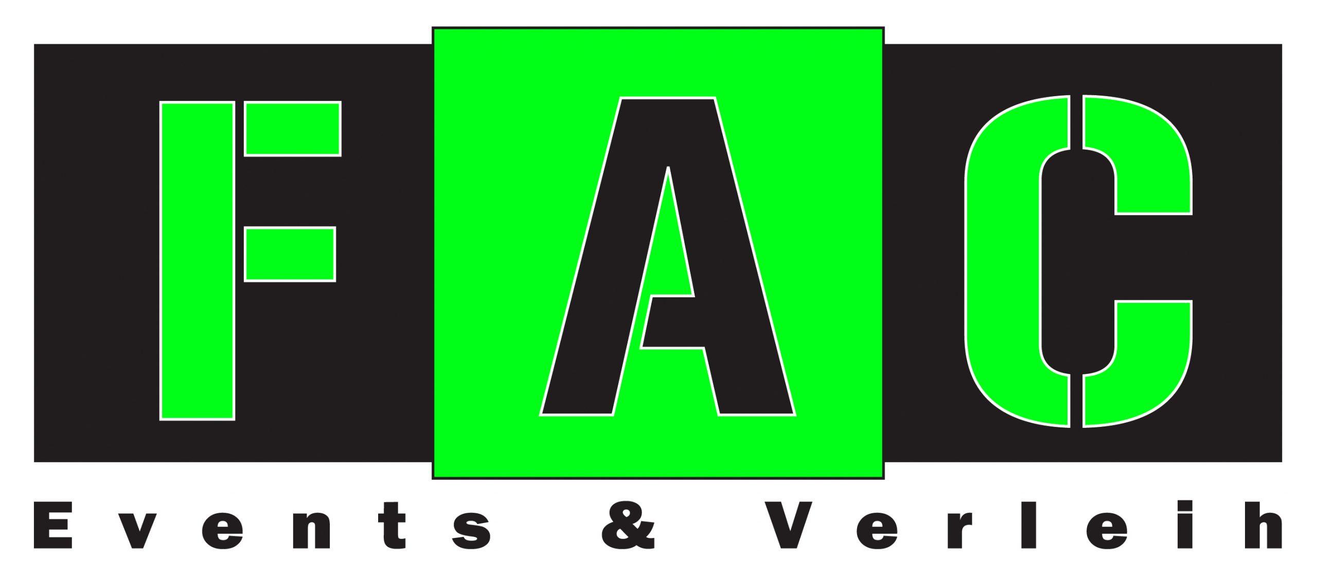 Logo der FAC-Events & Verleih GmbH