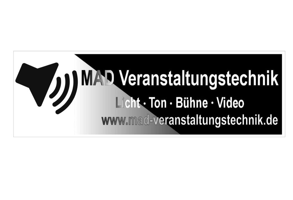 Logo der MAD Veranstaltungstechnik