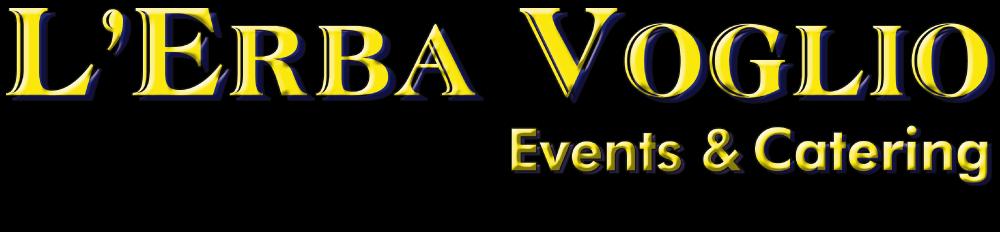 Logo der L'Erba Voglio Events & Catering