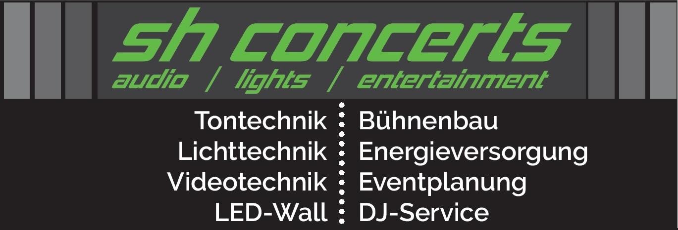 Logo der sh concerts