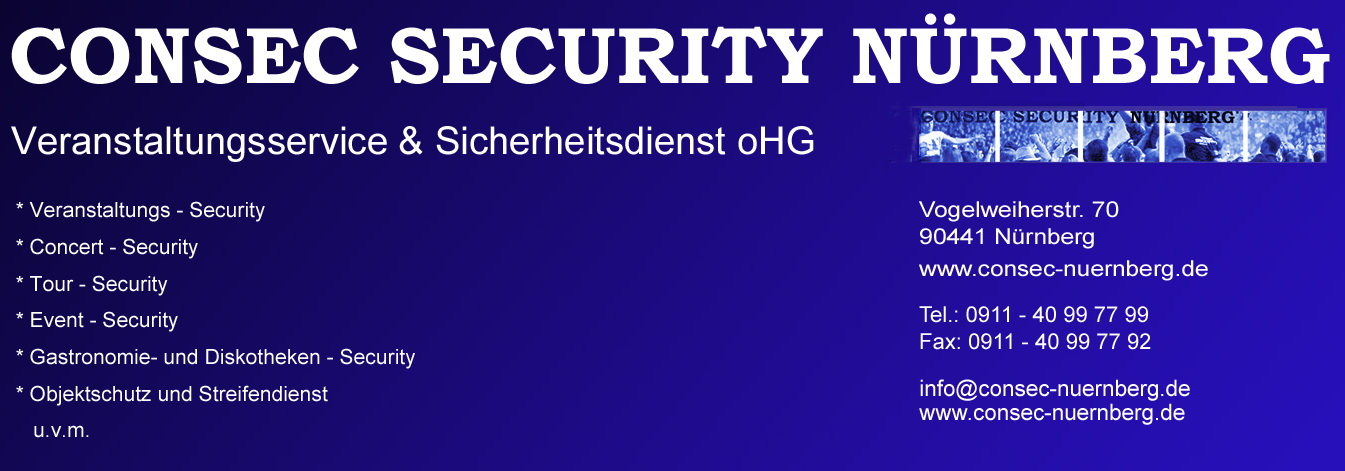 Logo der CONSEC SECURITY NÜRNBERG