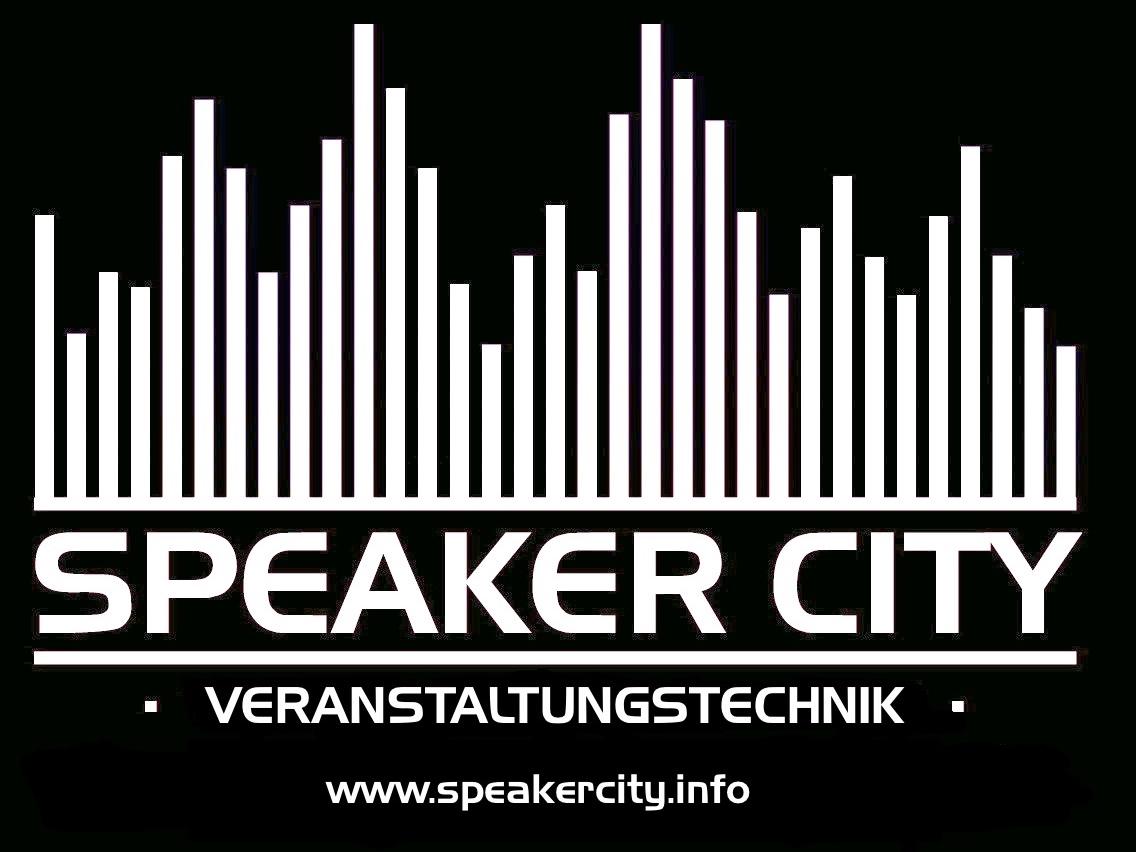Logo der Speaker City Veranstaltungstechnik
