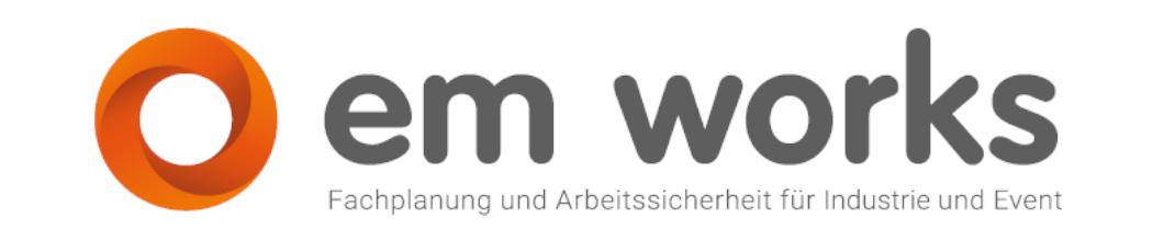 Logo der e.m. works! GmbH