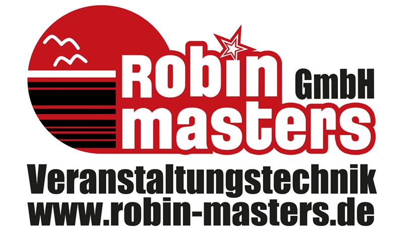 Logo der Robin Masters Veranstaltungstechnik GmbH