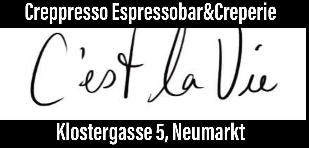 Logo der Creppresso Espressobar&Creperie
