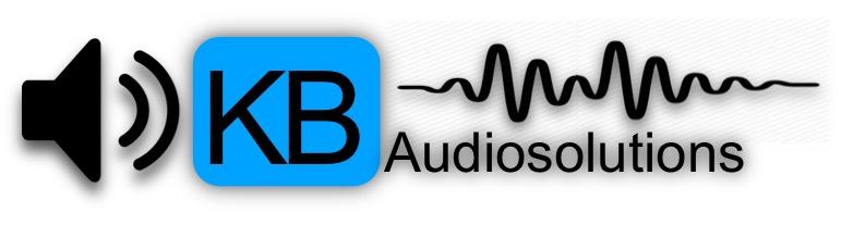 Logo der KB Audiosolutions