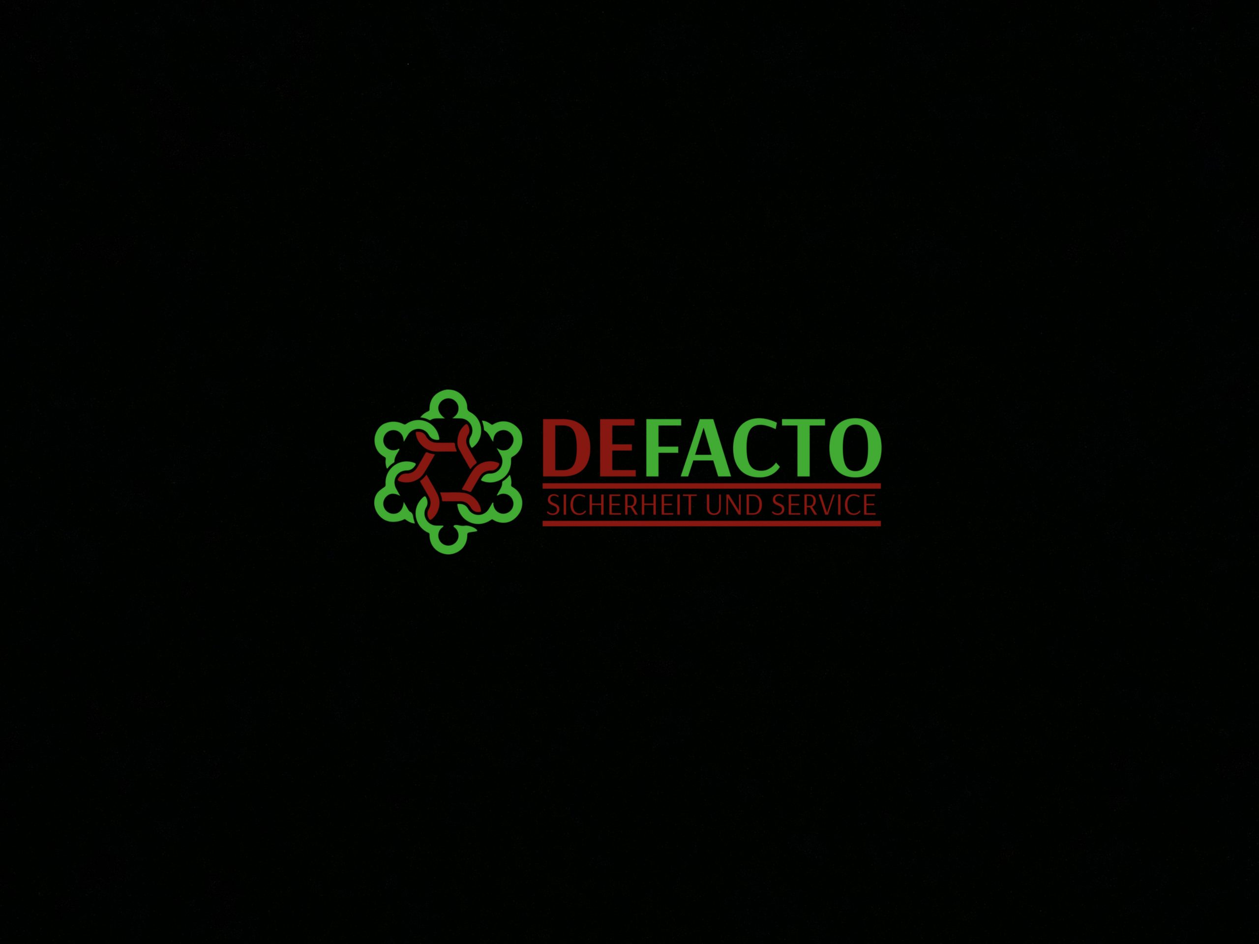 Logo der Defacto Sicherheit & Service UG