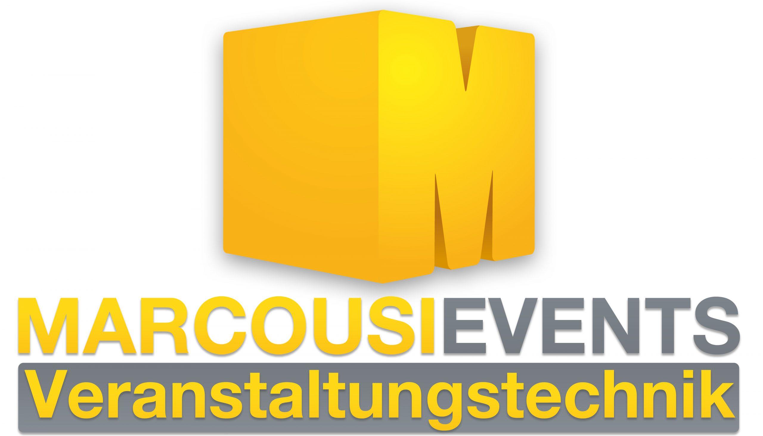 Logo der Marcousi events