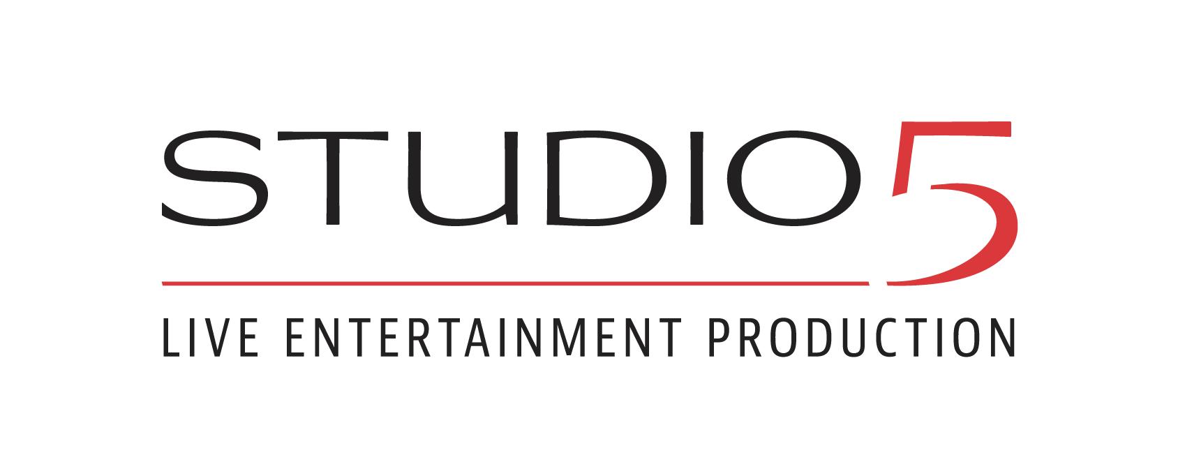 Logo der STUDIO 5 eK. - Live Entertainment Production