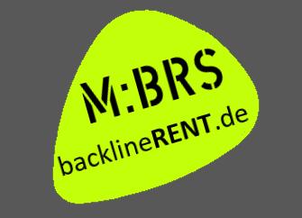 Logo der M:BRS backlineRENT.de